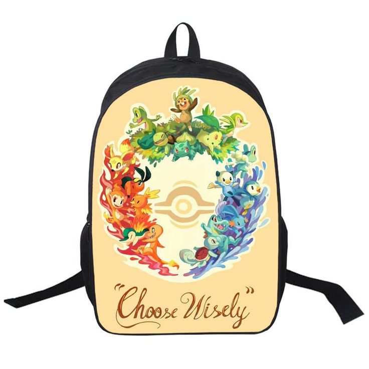 Anime Pokemon Go Backpack For Teenagers Girls Boys School Bags Pikacun Children School Backpacks Pokeball Kids Best Gift Bag