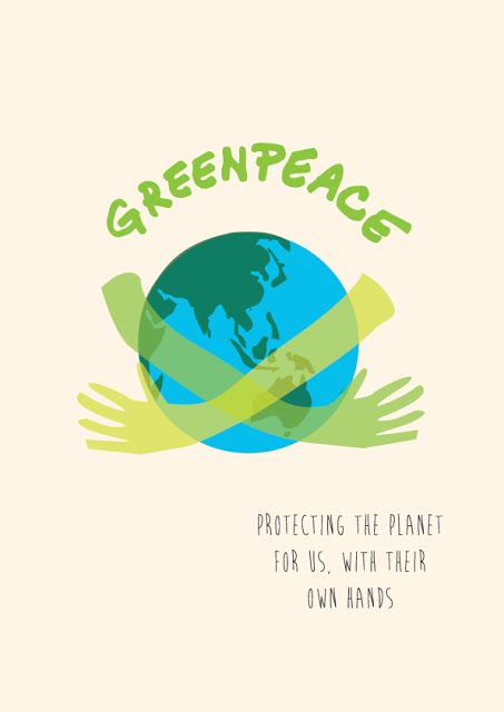 Greenpeace Posters Greenpeace Save Mother Earth