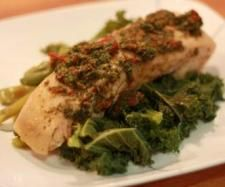 Steamed Salmon with Mint, Garlic, Basil and lemon | Official Thermomix Recipe Community