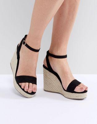 ca0c3f18796 New Look Espadrille Wedge | Wedges | Womens shoes wedges, Wedge ...