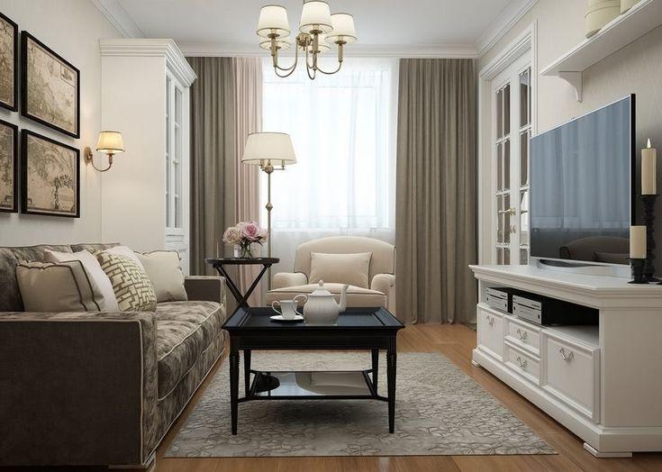 Modern klasszikus - fiatal hölgy 60m2-es lakása egyszerű formákkal diszkrét dekorációval