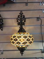 Mosaic Glass Wall Sconce
