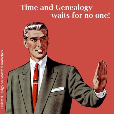 Genealogy humor.
