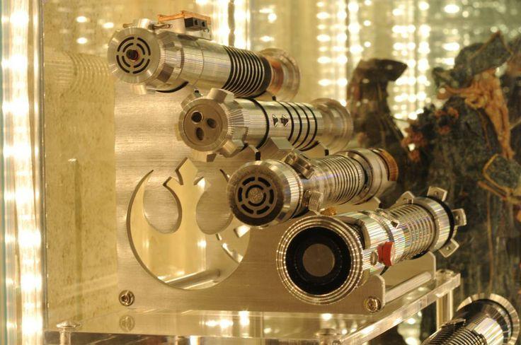 Expo Stands Lightsaber : Best images about lightsaber stands on pinterest