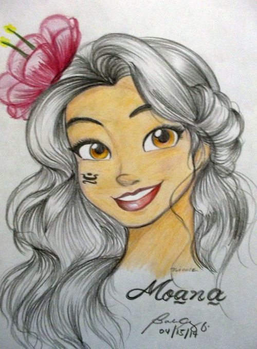 New Disney princess Moana coming 2016 I love her already. She's so cute!