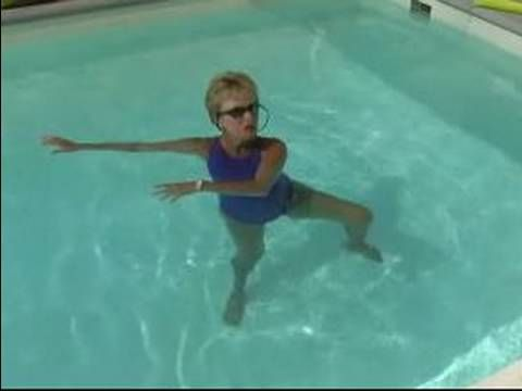 Water Aerobics Exercises : How to Do a Russian Twist for Water Aerobics: Russian Twist, Aquatic Exercise, Water Aerobic