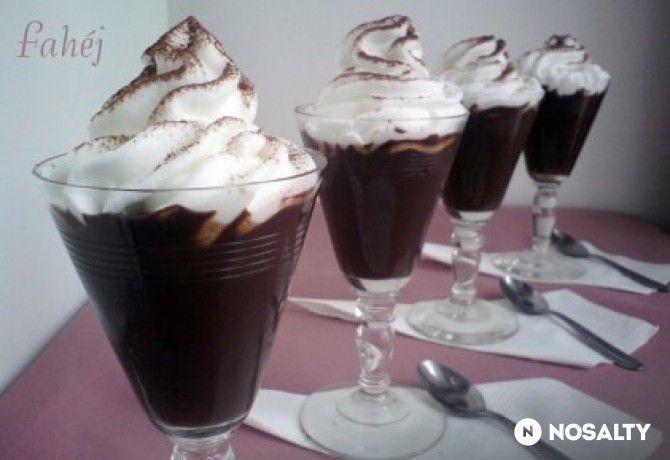 Csokis pohárkrém
