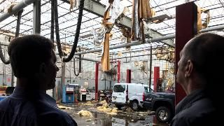 Severe Storms Cause Damage in Northeast Leaving Thousands Without Power Monday in Syracuse, New York | The Weather Channel