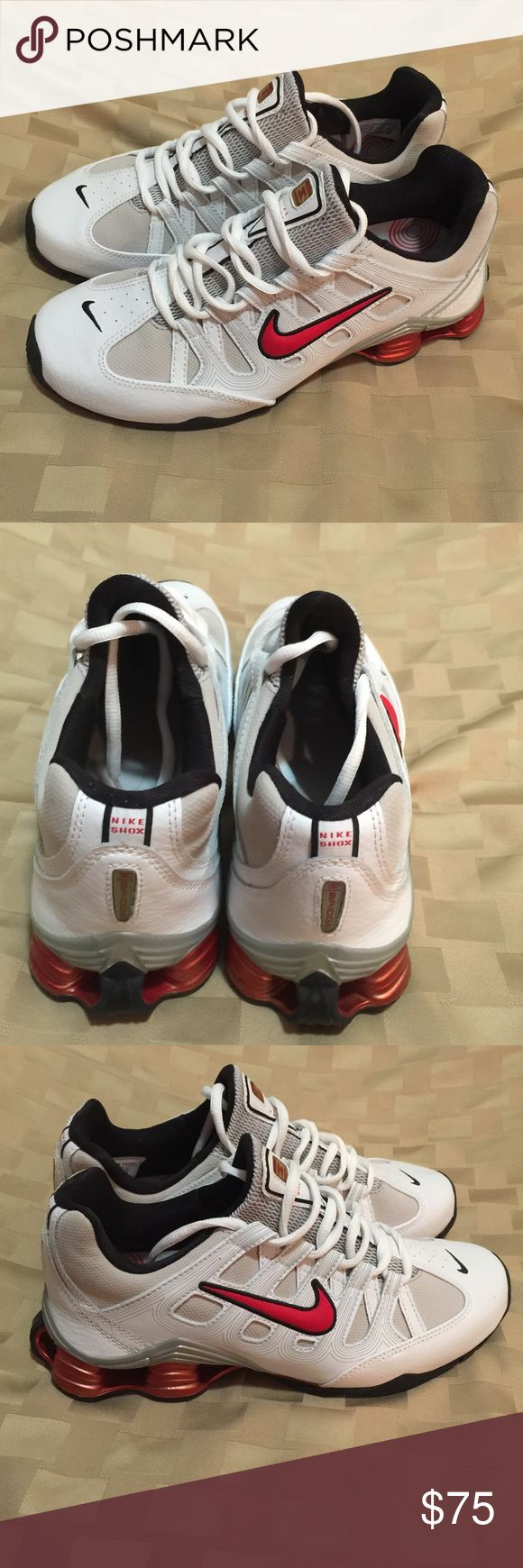 NIKE SHOCKS LEATHER UPPERS NEVER USED(MENS 8&1/2and WOMANS 10&1/2) Nike Shoes Sneakers