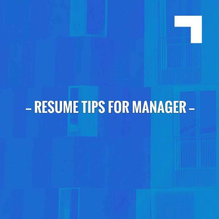 Kickstart your day with a good read!⚡️Resume Tips for Manager http://learn.jobisite.com/resume-tips-manager/