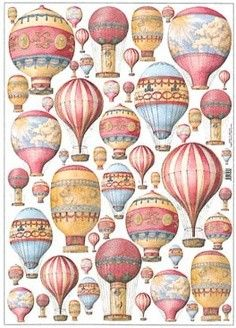 BACKGROUND - hot air baloons