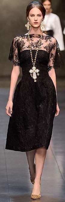 Dolce & Gabbana F/W 2013 RTW Milan FW The dress not the accessories