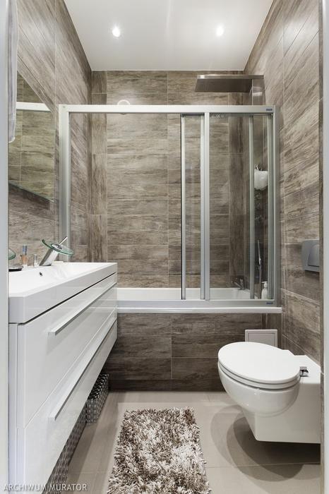 Wanna i prysznic w jednej łazience. Zobacz aranżacje nowoczesnych łazienek z wanną i kabiną prysznicową