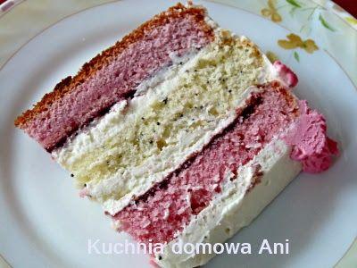 Kuchnia domowa Ani: Tort biszkoptowy z kremem mascarpone
