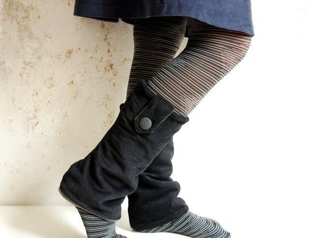 Beinstulpen - Cord-Beinstulpen Stiefelstulpen Wadenwärmer - ein Designerstück von min-i-max bei DaWanda