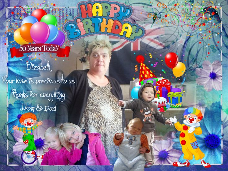 Birthday Greetings Elizabeth