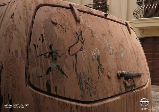 Print campaign/Nissan Pathfinder