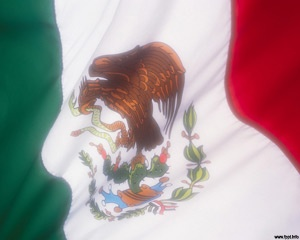 Mexico Flag Powerpoint is a free template with the flag of Mexico country