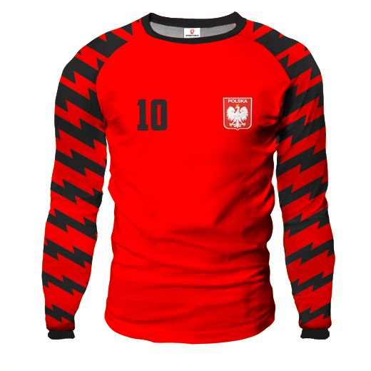 ARROW Goalkeeper Jersey With Custom Name And Number red