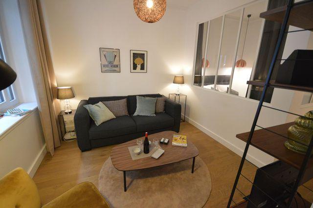 Paris 9 : rénovation d'un studio de 26 m2 - Côté Maison