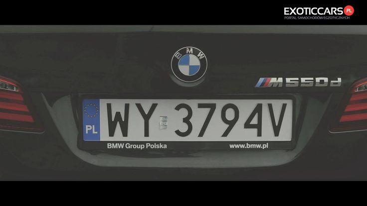 BMW M550d xDrive   test ExoticCars.pl
