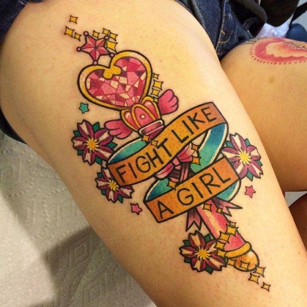 Galeria de tatuagens de Sailor Moon para você se inspirar!                                                                                                                                                                                 Mais