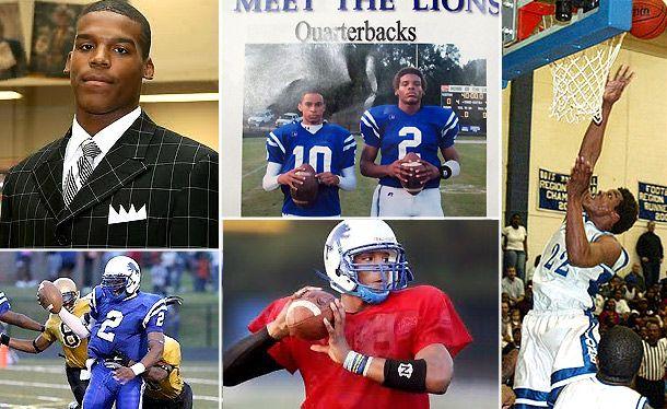cam newton high school   courtesy westlake high school