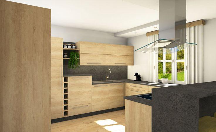 Küche mit Keramik-Arbeitsplatte Einrichtungen Holzstudio Pinterest - keramik arbeitsplatte küche