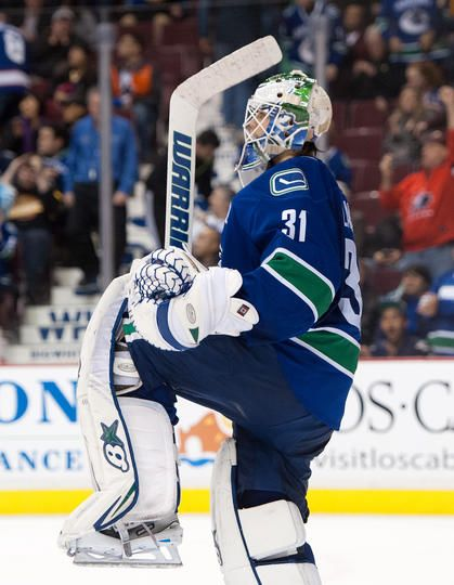 Eddie Lack #31 I'm going to miss his smiling face in Vancouver.