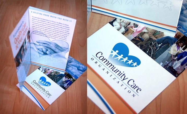 Full color trifold brochure for Community Care Organization.