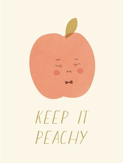 keep it peachy: Peachy Design, Peachy Art, Etsy, Mornings Coffee, Art Prints, Keep It Peachy, Design Blog, Patterns Prints Illustrations, The Roller Coasters