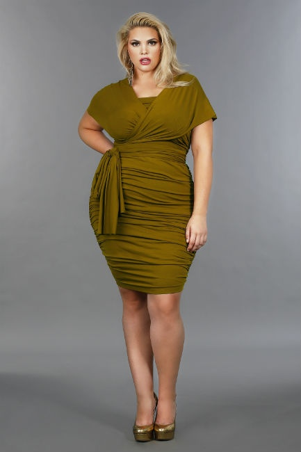 Designer Monif C. shares how curvy girls can look sexy in every season