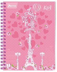Cuaderno argollado Norma Kiut, 100 H