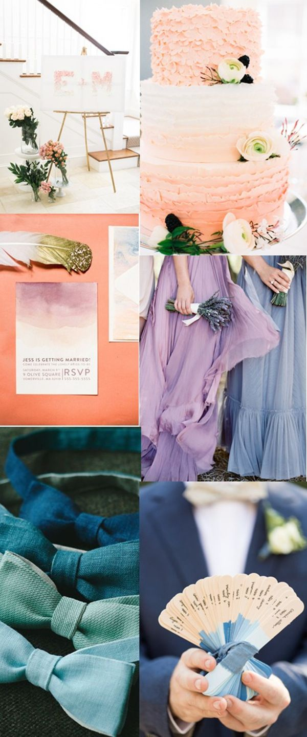so pretty ombre wedding ideas for 2016