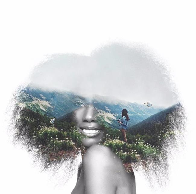 30+ Çifte Pozlama Örneğiyle Doğaya Yolculuk Sanatlı Bi Blog 8