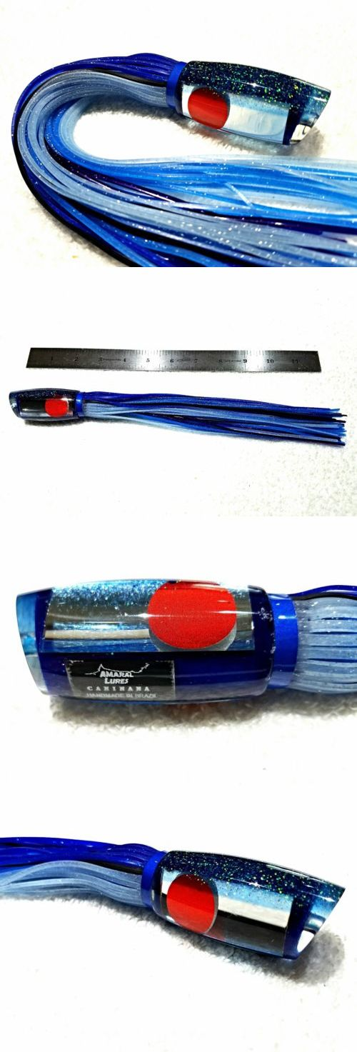 Saltwater Lures 36153: Amaral Lures Mirrored Ice Blue Caninana 10 Big Game Marlin Ahi Trolling 4Oz -> BUY IT NOW ONLY: $69.95 on eBay!