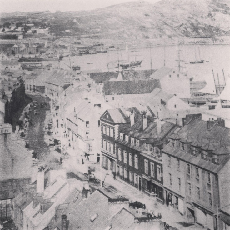 Flashback Friday: vintage pic of Water Street, St John's, Newfoundland. 1950s, credit to The Book of Newfoundland vol 3.