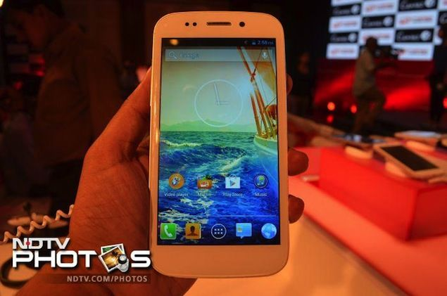 Micromax Canvas 4: First Impressions   NDTV Gadgets