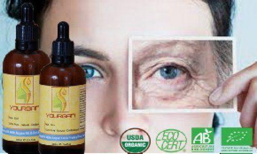 Bio Arganöl mit mandelol Rein Nativ Kaltgepresst Gesicht Haut aus Marokko