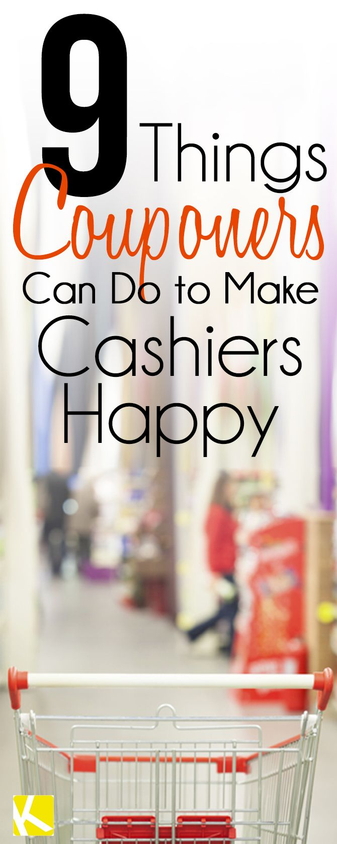 9 Things Couponers Can Do to Make Cashiers Happy