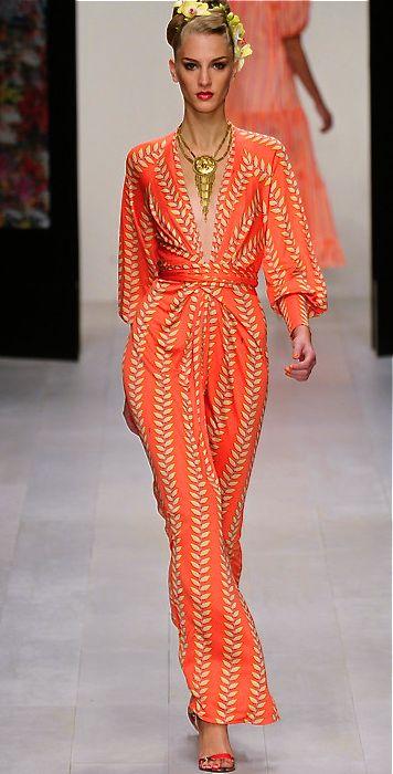 Issa Jumpsuit. LOVE THIS ~African fashion, Ankara, kitenge, African women dresses, African prints, Braids, Nigerian wedding, Ghanaian fashion, African wedding ~DKK