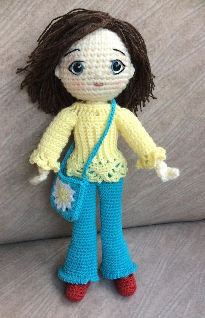 Embroidering Amigurumi Faces : 17 Best images about Knit/Crochet Doll Faces on Pinterest ...
