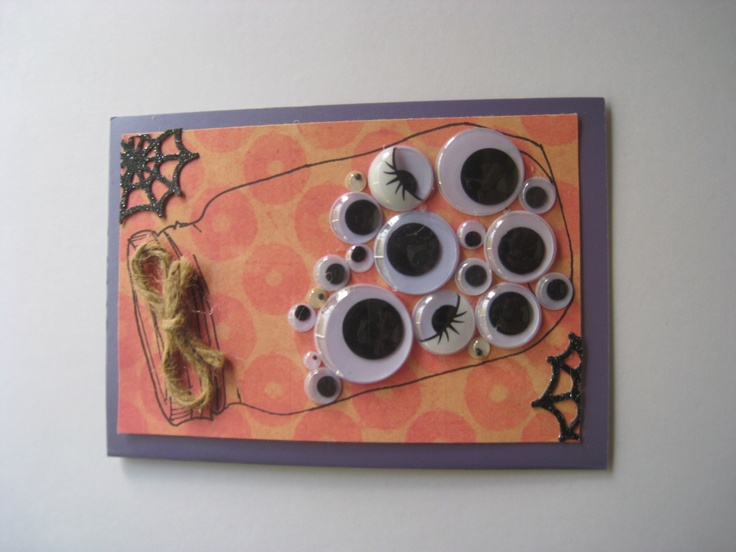 Spooky House Collection - The jar of eyes :)