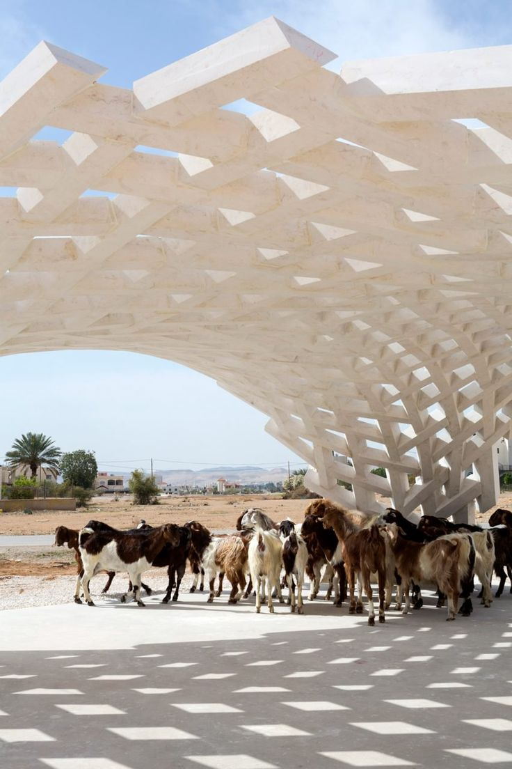 AAU Anastas and GSA Research Laboratory use digital technologies to create self-supporting stone pavilion