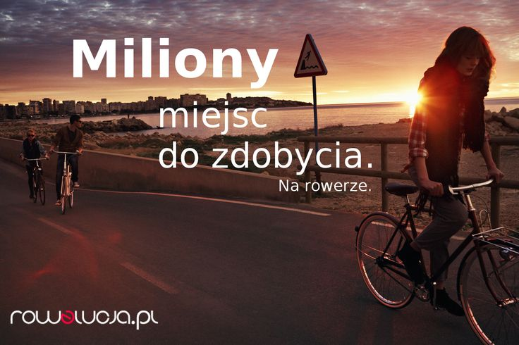 O tym jak piękny jest świat, najlepiej przekonać się, jadąc na rowerze. Przygotuj się na niezapomniane chwile, na wiatr rozwiewający włosy i ciepłe promienie słońca na skórze. Przygotuj się na smak przygody. Ale najpierw odwiedź Rowelucję i znajdź idealnego kompana dla siebie: http://goo.gl/d7YWGI