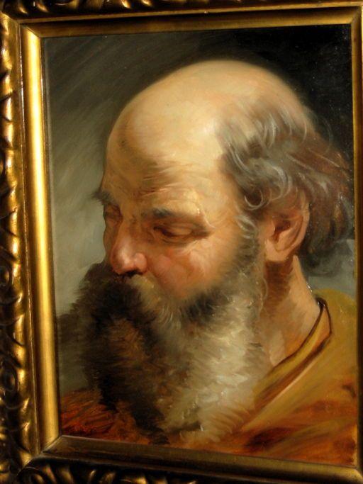 Mosè, collezione privata, Raffaele Casnedi, pittore