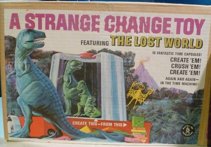 MATTEL 1967 A Strange Change Toy (The Lost World)
