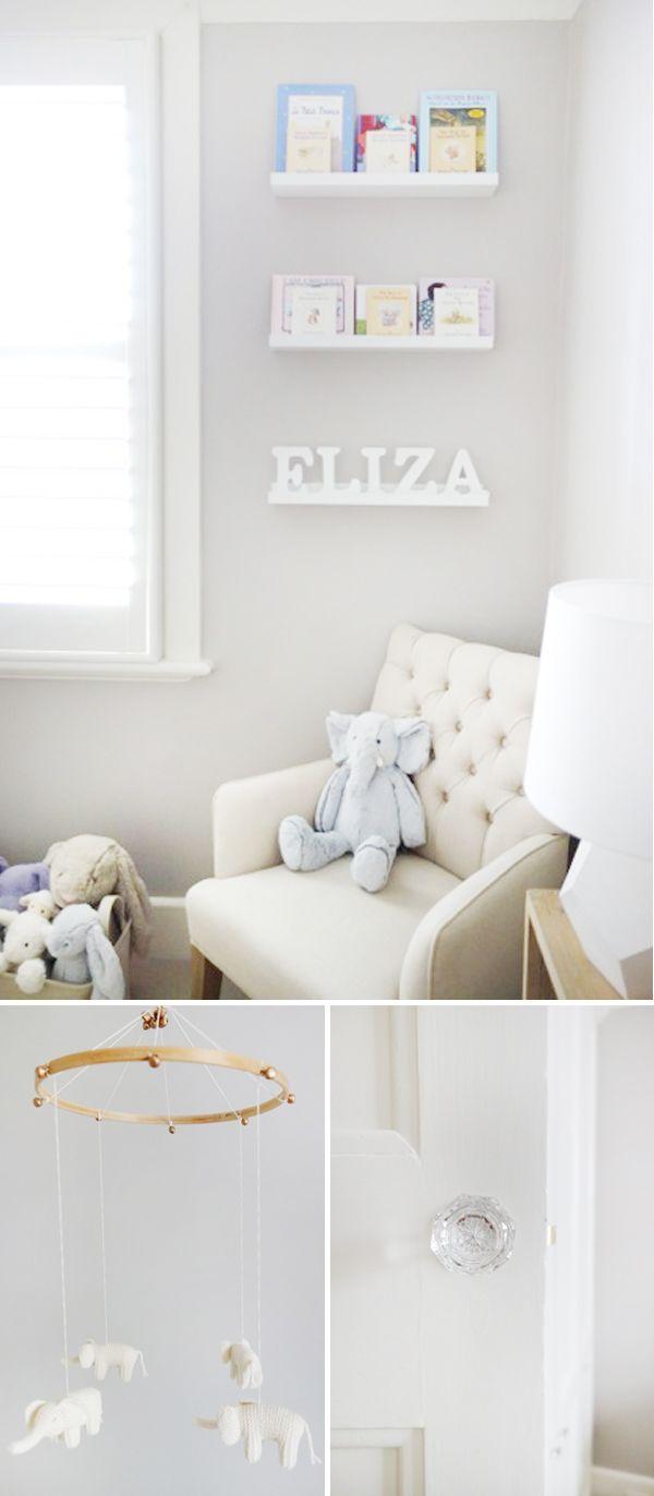 Eliza's nursery on Lay Baby Lay!! Stoked!! | Real nursery: eliza's dreamy retreat