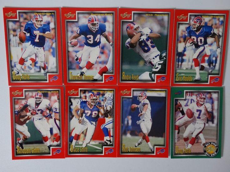 1999 Score Series 1 Buffalo Bills Team Set of 8 Football Cards #BuffaloBills
