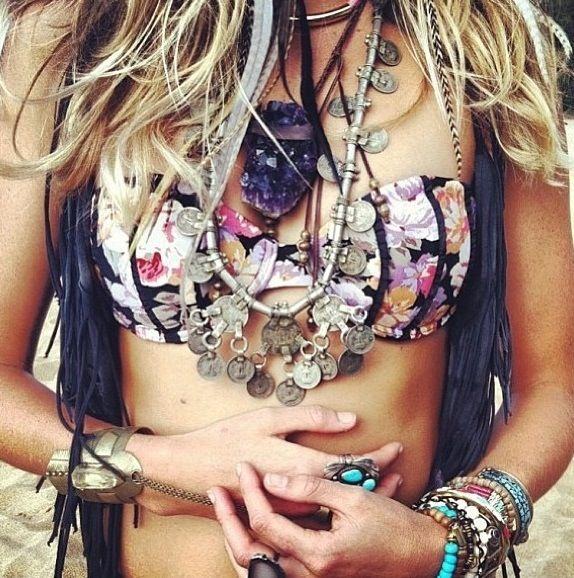 Bohemian styled jewellery  - #bohemian ☮k☮ #boho
